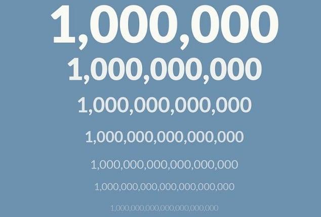 المليار كم مليون كم يساوي المليار التداول بسهولة